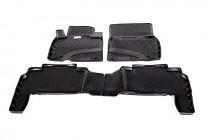 L.Locker Глубокие коврики в салон Lexus LX 570  полиуретановые