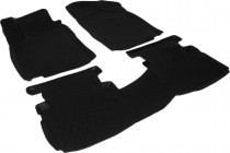 L.Locker Глубокие коврики в салон MG 5 полиуретановые