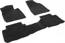 L.Locker Глубокие коврики в салон Nissan Teana 2008-2014  полиуретановые