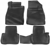 L.Locker Глубокие коврики в салон Nissan Juke  полиуретановые