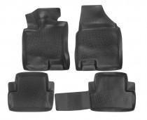 L.Locker Глубокие коврики в салон Nissan Qashqai 2007-2014  полиуретановые