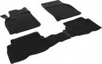 Глубокие коврики в салон Nissan Almera classic   полиуретановые L.Locker