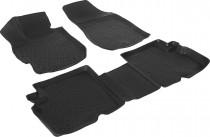 L.Locker Глубокие коврики в салон Nissan Almera 2013-   полиуретановые