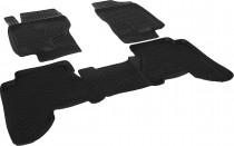 L.Locker Глубокие коврики в салон Nissan Pathfinder III 2004-2012 полиуретановые