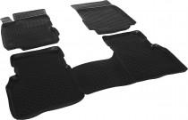 L.Locker Глубокие коврики в салон Nissan Note 2005-2014  полиуретановые