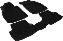 L.Locker Глубокие коврики в салон Opel Astra J JTC полиуретановые