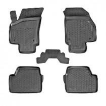 L.Locker Глубокие коврики в салон Opel Astra H hatchback полиуретановые