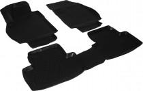 L.Locker Глубокие коврики в салон Opel Zafira C полиуретановые