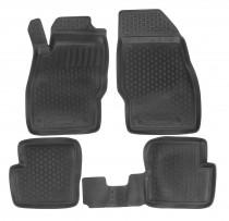 L.Locker Глубокие коврики в салон Opel Corsa D 2006-2014 полиуретановые