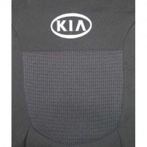 Авточехлы Kia Rio 2005-2011 цельная спинка Prestige