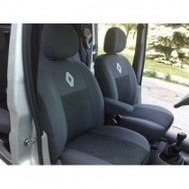 Авточехлы Renault Duster (цельная спинка) Prestige