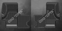 Глубокие резиновые коврики ГАЗ Валдай SRTK (Саранск)
