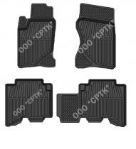Глубокие резиновые коврики Great Wall Haval H3/H5 SRTK (Саранск)