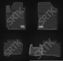Глубокие резиновые коврики Hyundai Accent (Solaris) 2010- SRTK (Саранск)