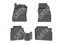 SRTK (Саранск) Глубокие резиновые коврики Nissan Sentra 2014-