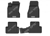 SRTK (Саранск) Глубокие резиновые коврики Nissan X-Trail T31 2007-2014