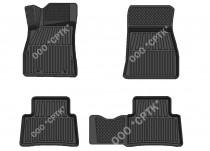 SRTK (Саранск) Глубокие резиновые коврики Nissan Juke