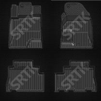 Глубокие резиновые коврики Chevrolet Captiva 2011- SRTK (Саранск)