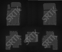 SRTK (Саранск) Глубокие резиновые коврики Ssang Yong Kyron
