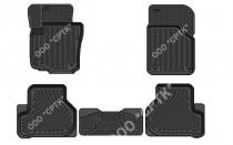 SRTK (Саранск) Глубокие резиновые коврики VW Jetta 2005-2010