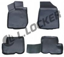 Глубокие коврики в салон Fiat Tipo 2015- полиуретановые L.Locker
