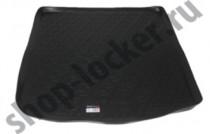 Коврик в багажник Audi A6 (C7) Avant 2014- полимерный L.Locker