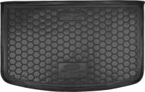 Полиуретановый коврик багажника Kia Rio 2015- hatchback с органайзером Avto Gumm