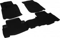 L.Locker Глубокие коврики в салон Ssang Yong Rexton II 2007-2012 полиуретановые