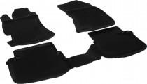 L.Locker Глубокие коврики в салон Subaru Impreza 2007-2011 полиуретановые