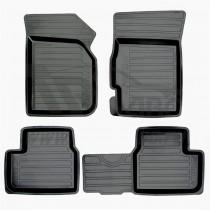 AvtoDriver Глубокие резиновые коврики Chevrolet Spark/Ravon R2