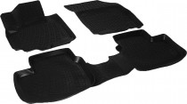L.Locker Глубокие коврики в салон Suzuki SX-4 2006-2013 полиуретановые