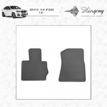 Коврики резиновые BMW X4 (F26) 2014- передние Stingray