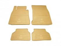 Коврики резиновые BMW 5 (E39)/BMW 7 (E38) бежевые Stingray