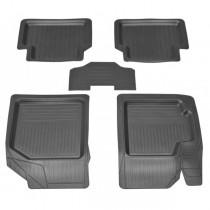 Резиновые коврики Chevrolet Aveo/ZAZ Vida Rozma