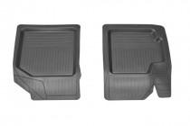 Резиновые коврики Chevrolet Aveo/ZAZ Vida передние Rozma