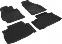 Глубокие коврики в салон Toyota Verso 2012- полиуретановые L.Locker