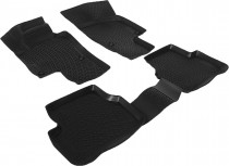 L.Locker Глубокие коврики в салон Volkswagen Passat B6 полиуретановые