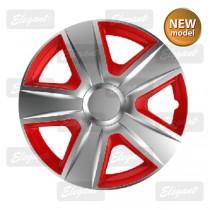 Колпак R13 ESPRIT silver&red Elegant