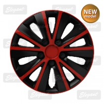 Колпак R14 RAPID red&black Elegant