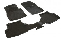 L.Locker Глубокие коврики в салон Volkswagen Golf 7 2012- box полиуретановые