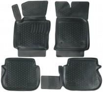 Глубокие коврики в салон Volkswagen Caddy 2004-  полиуретановые L.Locker
