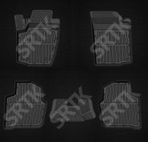 SRTK (Саранск) Глубокие резиновые коврики Skoda Rapid/Seat Toledo