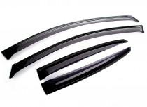 Ветровики Chevrolet Colorado 4d 2012- Cobra Tuning