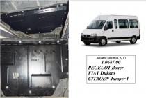 Кольчуга Защита двигателя Jumper/Ducato/Boxer 1994-2006 (кондиционер 2.0i)