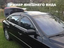 Cobra Tuning Дефлекторы окон VW Bora (Jetta) 1999-2005  с хромированным молдингом