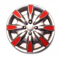 Колпак R15 Phantom Red J-TEC (Jacky Auto Sport)
