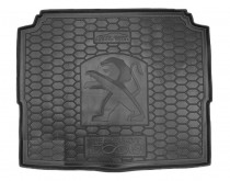 Avto Gumm Полиуретановый коврик багажника Peugeot 3008 2016- нижний под запаску