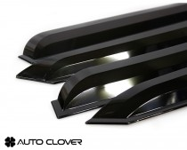 Дефлекторы окон Kia Rio 2005-2011 sedan Auto Clover
