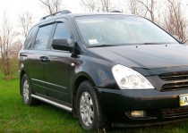 Auto Clover Дефлекторы окон Kia Carnival 2006-2013