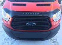 Дефлектор капота Ford Transit  2014- (Вариант Б) Vip Tuning